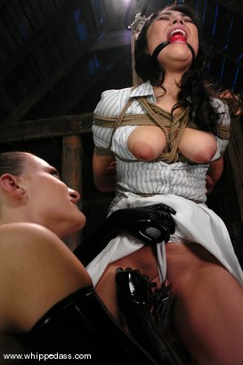 Photo number 4 from LeiLani shot for Whipped Ass on Kink.com. Featuring Nikki Nievez and LieLani in hardcore BDSM & Fetish porn.