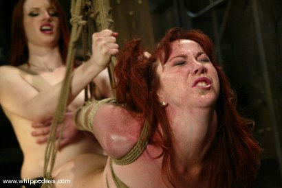 Photo number 13 from Trinity Post and Claire Adams shot for Whipped Ass on Kink.com. Featuring Claire Adams and Trinity Post in hardcore BDSM & Fetish porn.