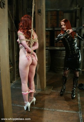 Photo number 4 from Trinity Post and Claire Adams shot for Whipped Ass on Kink.com. Featuring Claire Adams and Trinity Post in hardcore BDSM & Fetish porn.