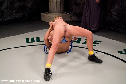 Photo number 5 from The Goddess(13-7) Ranked 3rd<br>The Druid(0-0) Not Ranked shot for Ultimate Surrender on Kink.com. Featuring Holly Wellin and Isis Love in hardcore BDSM & Fetish porn.