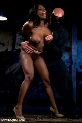 Photo number 2 from Jada Fire is back, oiled up, bound and made to squirt. shot for Hogtied on Kink.com. Featuring Jada Fire in hardcore BDSM & Fetish porn.
