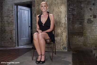 Photo number 1 from The Ultimate MILF! <br>Kylie Worthy is back with her HUGE nipples, and beautiful face.<br> shot for Hogtied on Kink.com. Featuring Kylie Worthy in hardcore BDSM & Fetish porn.