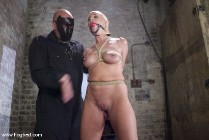 Photo number 4 from The Ultimate MILF! <br>Kylie Worthy is back with her HUGE nipples, and beautiful face.<br> shot for Hogtied on Kink.com. Featuring Kylie Worthy in hardcore BDSM & Fetish porn.
