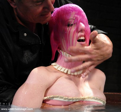 Photo number 3 from Cherry Torn is Pink hot! shot for Water Bondage on Kink.com. Featuring Cherry Torn in hardcore BDSM & Fetish porn.