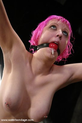 Photo number 5 from Cherry Torn is Pink hot! shot for Water Bondage on Kink.com. Featuring Cherry Torn in hardcore BDSM & Fetish porn.