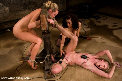 Photo number 9 from COLLECTION: Part 4 shot for Wired Pussy on Kink.com. Featuring Sarah Jane Ceylon and Harmony in hardcore BDSM & Fetish porn.