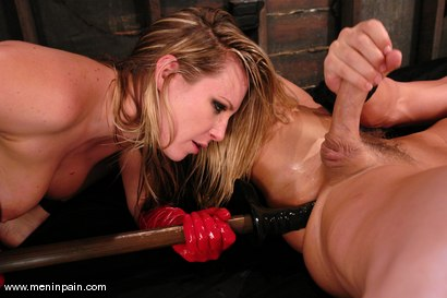 Photo number 11 from Latex Dominatrix shot for Men In Pain on Kink.com. Featuring Harmony and Christian in hardcore BDSM & Fetish porn.