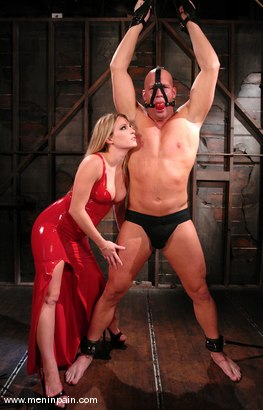 Photo number 2 from Latex Dominatrix shot for Men In Pain on Kink.com. Featuring Harmony and Christian in hardcore BDSM & Fetish porn.