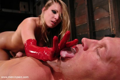 Photo number 14 from Latex Dominatrix shot for Men In Pain on Kink.com. Featuring Harmony and Christian in hardcore BDSM & Fetish porn.