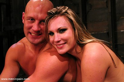 Photo number 15 from Latex Dominatrix shot for Men In Pain on Kink.com. Featuring Harmony and Christian in hardcore BDSM & Fetish porn.