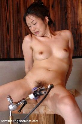 Photo number 11 from Sayonara Japan - Konno, Maya, Ichijo and Oosawa  final machine fucking. shot for Fucking Machines on Kink.com. Featuring Oosawa Hazuki in hardcore BDSM & Fetish porn.