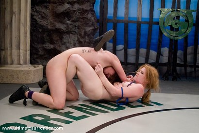 Photo number 12 from Spartica(0-0) Not Ranked<br>The Butcher(0-0) Not Ranked shot for Ultimate Surrender on Kink.com. Featuring Madison Young and Devi Lynne in hardcore BDSM & Fetish porn.