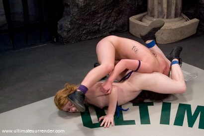 Photo number 10 from Spartica(0-0) Not Ranked<br>The Butcher(0-0) Not Ranked shot for Ultimate Surrender on Kink.com. Featuring Madison Young and Devi Lynne in hardcore BDSM & Fetish porn.