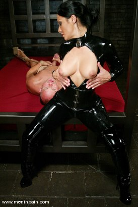 Photo number 9 from Euro Bitch Dominates worthless slave boy shot for Men In Pain on Kink.com. Featuring Tahiti Boy and Sandra Romain in hardcore BDSM & Fetish porn.