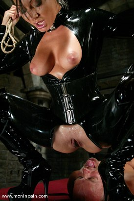 Photo number 10 from Euro Bitch Dominates worthless slave boy shot for Men In Pain on Kink.com. Featuring Tahiti Boy and Sandra Romain in hardcore BDSM & Fetish porn.