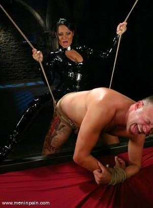Photo number 6 from Euro Bitch Dominates worthless slave boy shot for Men In Pain on Kink.com. Featuring Tahiti Boy and Sandra Romain in hardcore BDSM & Fetish porn.