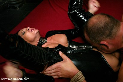 Photo number 14 from Euro Bitch Dominates worthless slave boy shot for Men In Pain on Kink.com. Featuring Tahiti Boy and Sandra Romain in hardcore BDSM & Fetish porn.