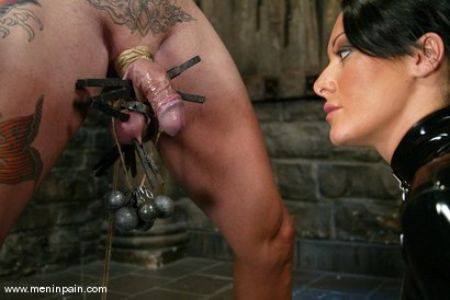 Photo number 4 from Euro Bitch Dominates worthless slave boy shot for Men In Pain on Kink.com. Featuring Tahiti Boy and Sandra Romain in hardcore BDSM & Fetish porn.