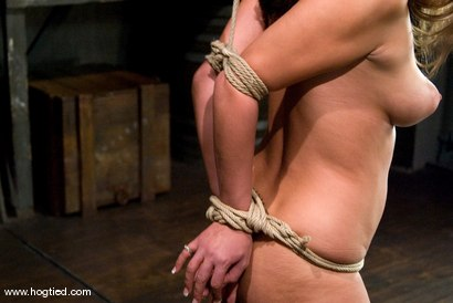 Photo number 2 from 18 year old Carmen McCarthy<br>Struggles with her first ever bondage experience. shot for Hogtied on Kink.com. Featuring Carmen McCarthy in hardcore BDSM & Fetish porn.