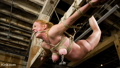 Photo number 7 from Dee Williams Suffers Though Beautiful Pure Bondage at it's Best shot for Hogtied on Kink.com. Featuring Dee Williams in hardcore BDSM & Fetish porn.