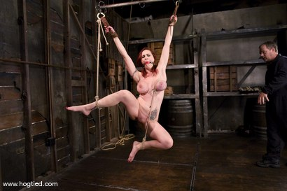 Photo number 9 from Berlin and her massive 32F breasts visit<br>for her first ever Hogtied shoot. shot for Hogtied on Kink.com. Featuring Mz Berlin in hardcore BDSM & Fetish porn.