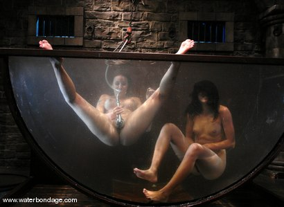 Photo number 6 from Delilah Strong & Keeani Lei Livefeed Part 2 shot for Water Bondage on Kink.com. Featuring Keeani Lei and Delilah Strong in hardcore BDSM & Fetish porn.