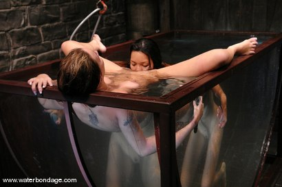 Photo number 7 from Delilah Strong & Keeani Lei Livefeed Part 2 shot for Water Bondage on Kink.com. Featuring Keeani Lei and Delilah Strong in hardcore BDSM & Fetish porn.