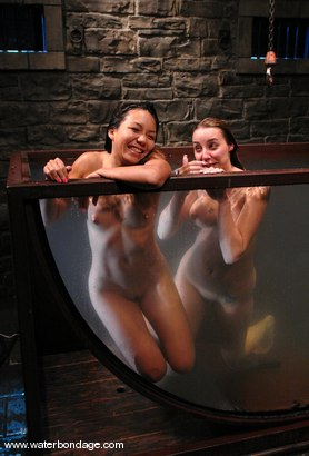 Photo number 1 from Delilah Strong & Keeani Lei Livefeed Part 2 shot for Water Bondage on Kink.com. Featuring Keeani Lei and Delilah Strong in hardcore BDSM & Fetish porn.