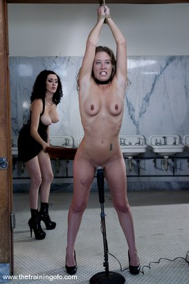 Photo number 7 from The Training of Jade Marxxx, Day Two shot for The Training Of O on Kink.com. Featuring Jade Marxxx and Princess Donna Dolore in hardcore BDSM & Fetish porn.