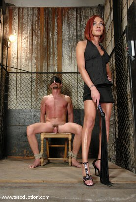 Photo number 5 from Mia Isabella and Eddy shot for TS Seduction on Kink.com. Featuring Mia Isabella and Eddy in hardcore BDSM & Fetish porn.