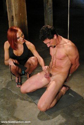 Photo number 7 from Mia Isabella and Eddy shot for TS Seduction on Kink.com. Featuring Mia Isabella and Eddy in hardcore BDSM & Fetish porn.