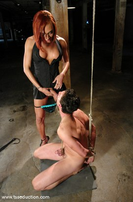 Photo number 9 from Mia Isabella and Eddy shot for TS Seduction on Kink.com. Featuring Mia Isabella and Eddy in hardcore BDSM & Fetish porn.