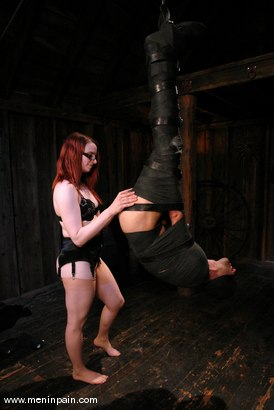 Photo number 9 from Heavy Bondage and Mind Games shot for Men In Pain on Kink.com. Featuring Claire Adams and totaleurosex in hardcore BDSM & Fetish porn.