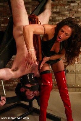 Photo number 10 from Brandon and Kym Wilde shot for Men In Pain on Kink.com. Featuring Brandon and Kym Wilde in hardcore BDSM & Fetish porn.