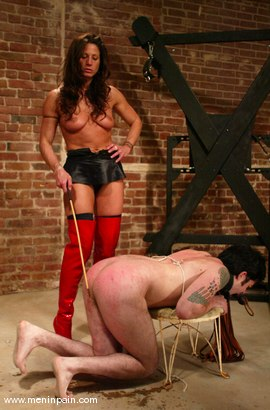 Photo number 13 from Brandon and Kym Wilde shot for Men In Pain on Kink.com. Featuring Brandon and Kym Wilde in hardcore BDSM & Fetish porn.