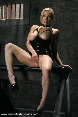 Photo number 1 from Seven returns for more sex and bondage. shot for Sex And Submission on Kink.com. Featuring TJ Cummings and Adrianna Nicole in hardcore BDSM & Fetish porn.