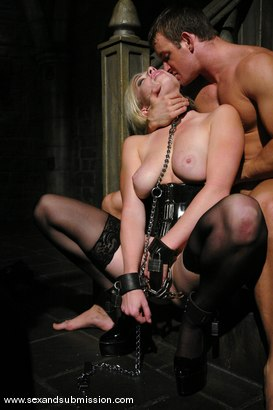 Photo number 9 from Seven returns for more sex and bondage. shot for Sex And Submission on Kink.com. Featuring TJ Cummings and Adrianna Nicole in hardcore BDSM & Fetish porn.