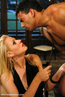 Photo number 4 from Mel Voguel and Poax Lenehan shot for TS Seduction on Kink.com. Featuring Mel Voguel and Poax Lenehan in hardcore BDSM & Fetish porn.