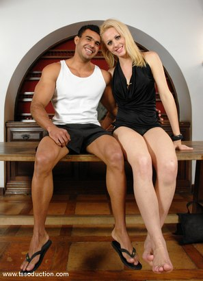 Photo number 15 from Mel Voguel and Poax Lenehan shot for TS Seduction on Kink.com. Featuring Mel Voguel and Poax Lenehan in hardcore BDSM & Fetish porn.