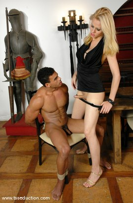 Photo number 7 from Mel Voguel and Poax Lenehan shot for TS Seduction on Kink.com. Featuring Mel Voguel and Poax Lenehan in hardcore BDSM & Fetish porn.