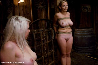 Photo number 1 from LIVE SHOW PART 2 shot for Wired Pussy on Kink.com. Featuring Lorelei Lee and Sara Scott in hardcore BDSM & Fetish porn.