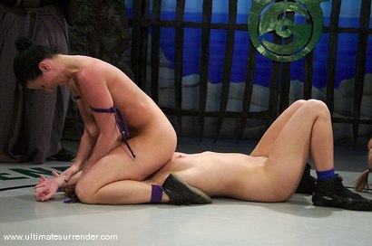 Photo number 3 from TAG TEAM  <BR>The Assassin & The Terminator<br> vs <br> The Brawler & The Tigress shot for Ultimate Surrender on Kink.com. Featuring Ariel X, Sara Faye, Kylie Worthy and Harmony in hardcore BDSM & Fetish porn.