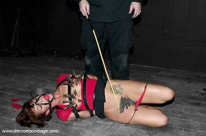 Photo number 7 from Ripping Out the Rug shot for Device Bondage on Kink.com. Featuring Sara Faye in hardcore BDSM & Fetish porn.