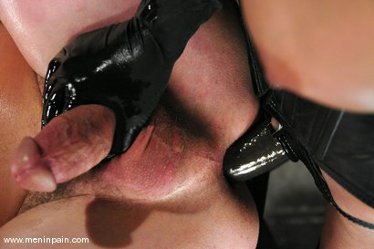 Photo number 7 from Mistress Shy Love Dominates her slave shot for Men In Pain on Kink.com. Featuring shy love and Eddy in hardcore BDSM & Fetish porn.