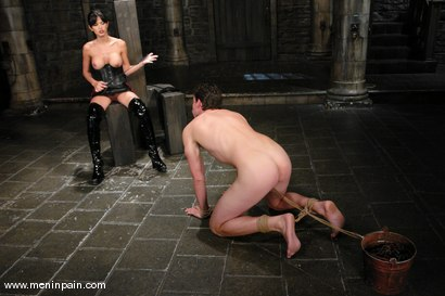 Photo number 2 from Mistress Shy Love Dominates her slave shot for Men In Pain on Kink.com. Featuring shy love and Eddy in hardcore BDSM & Fetish porn.