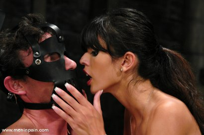 Photo number 11 from Mistress Shy Love Dominates her slave shot for Men In Pain on Kink.com. Featuring shy love and Eddy in hardcore BDSM & Fetish porn.
