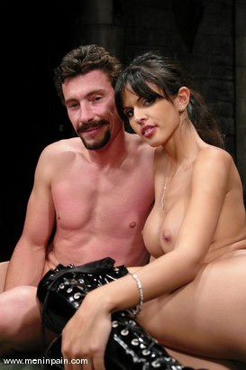 Photo number 15 from Mistress Shy Love Dominates her slave shot for Men In Pain on Kink.com. Featuring shy love and Eddy in hardcore BDSM & Fetish porn.