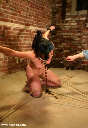 Photo number 6 from Carly shot for Hogtied on Kink.com. Featuring Carly in hardcore BDSM & Fetish porn.