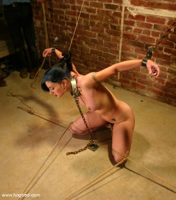 Photo number 5 from Carly shot for Hogtied on Kink.com. Featuring Carly in hardcore BDSM & Fetish porn.