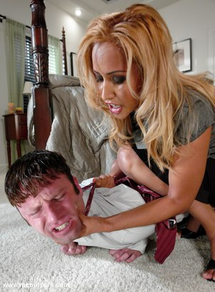 Photo number 4 from House Bitch shot for Men In Pain on Kink.com. Featuring Isis Love and Devin in hardcore BDSM & Fetish porn.